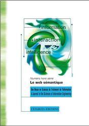 REVUE I3 HORS-SERIE ; le Web sémantique - Intérieur - Format classique