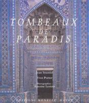 Tombeaux de paradis - Couverture - Format classique