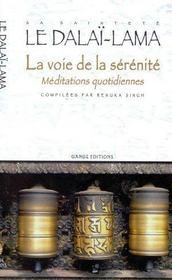 Voie De La Serenite - Meditations Quotid. - Intérieur - Format classique