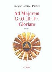 Ad majorem godf gloriam - Intérieur - Format classique