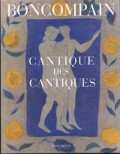 Le Cantique Des Cantiques Du Roi Salomon - Couverture - Format classique