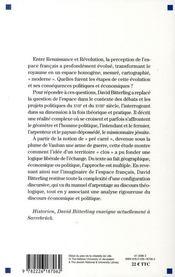 L'invention du pré carré ; construction de l'espace français sous l'ancien régime - 4ème de couverture - Format classique