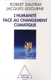 L'humanité face au changement climatique - Couverture - Format classique
