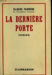 La Derniere Porte. - Couverture - Format classique