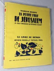 La petite fille de Jérusalem. - Couverture - Format classique
