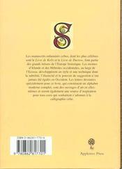 Alphabet Celtique - 4ème de couverture - Format classique