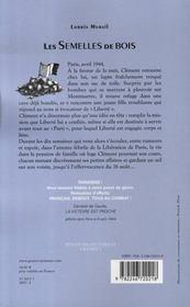 Les semelles de bois - 4ème de couverture - Format classique