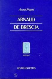 Arnaud de brescia - Couverture - Format classique