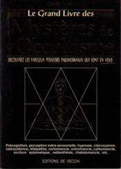 Le Grand Livre Des Mysteres De L'Occultisme - Couverture - Format classique