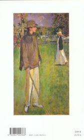 Jean cocteau - 4ème de couverture - Format classique