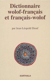 Dictionnaire wolof-français et français-wolof - Couverture - Format classique