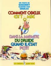 Comment Obélix est tombé dans la marmite du druide quand il était petit - Couverture - Format classique