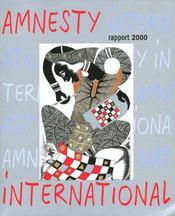 Amnesty international: rapport annuel 2000, supplément gratuit à la chronique n°163 juin - Intérieur - Format classique