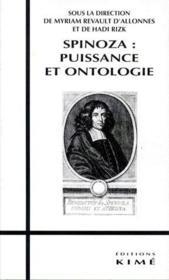 Spinoza : puissance et ontologie - Couverture - Format classique