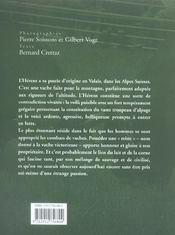 L'Hérens - 4ème de couverture - Format classique