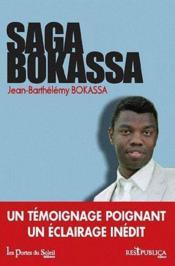 Saga Bokassa - Couverture - Format classique