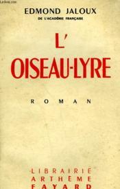 L'Oiseau-Lyre. - Couverture - Format classique