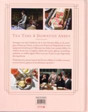 Tea time à Downton Abbey - 4ème de couverture - Format classique