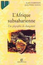 L'Afrique Sub-Saharienne - Couverture - Format classique