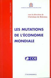 Les mutations de l'economie mondiale - Intérieur - Format classique