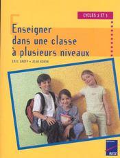 Enseigner dans une classe a plusieurs niveaux - Intérieur - Format classique