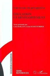 Une Revue En Perspective : Education Et Developpement - Intérieur - Format classique