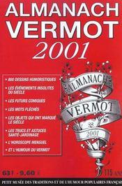Almanach Vermot (édition 2001) - Intérieur - Format classique