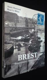 Brest souvenirs, souvenirs - Couverture - Format classique