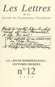 Revue Les Lettres De La Spf N 12 - La Jeune Homosexuelle - Intérieur - Format classique