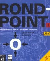 Rond point- niv. 1 - livre eleve + cd audio - Intérieur - Format classique
