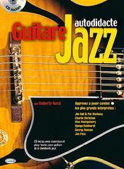 Guitare jazz autodidacte - Couverture - Format classique