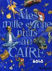 Mes mille et une nuits au Caire t.1 - Couverture - Format classique