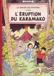 Les aventures de Jo et Zette t.2 ; l'éruption du Karamako - Couverture - Format classique