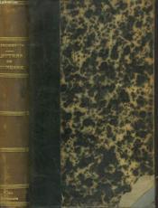Lettres De Jeunesse. Biographie Et Notes Par Pierre Planchon (Jacques-Andre Merys) - Couverture - Format classique