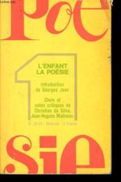 Poesie 1 - L'Enfant La Poesie - Couverture - Format classique