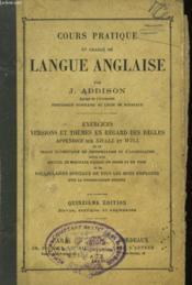Cours Pratique Et Gradue De Langue Anglaise - Couverture - Format classique