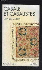 Cabale et cabalistes - Couverture - Format classique