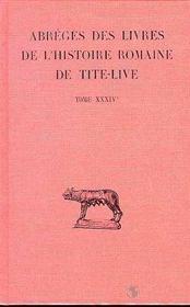 Histoire romaine t34 (1ere partie) - Intérieur - Format classique