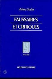 Faussaires et critiques - Couverture - Format classique