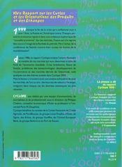 Les Marches Mondiaux En 2000 - 4ème de couverture - Format classique