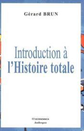 Histoire totale - Couverture - Format classique