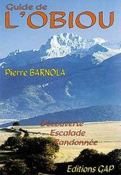Guide del'Obiou : découverte, escalade, randonnée - Intérieur - Format classique