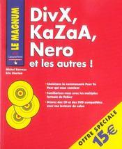 Divx, kazaa, nero et les autres - Intérieur - Format classique