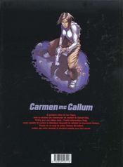 Carmen Mc Callum T.5 ; deus ex-machina - 4ème de couverture - Format classique