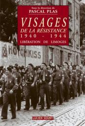 Visages de la resistance 1940-1944 - Couverture - Format classique