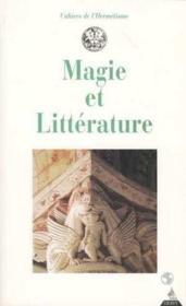 Magie et littérature - Couverture - Format classique