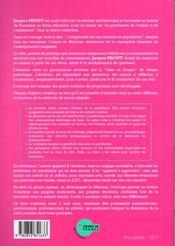Comprendre cas concrets en psychiatrie - 4ème de couverture - Format classique
