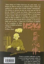 Usagi yojimbo t.8 - 4ème de couverture - Format classique