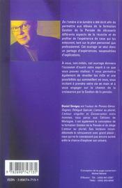 De L'Ombre A La Lumiere - 4ème de couverture - Format classique