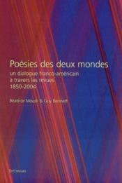 Poesie des deux mondes - Couverture - Format classique